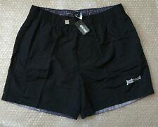 Just Cavalli men's black 3 pockets swim shorts size XXL