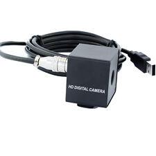 8MP 75degree No Distortion Lens USB Video Camera IMX179 Sensor with Black Case