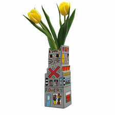 James Rizzi, Cat Flower Vase, Porzellanvase