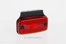 LED UMRISSLEUCHTE - REFLEKTOR MIT 4 LED - ROT - 110 x 54 MM / UNTERBAUVERSION