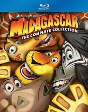New! MADAGASCAR The Complete Collection [3 Discs] Blu-ray All 3 Movies! FREE S&H