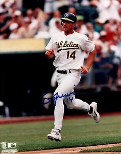 Oakland Athletics A's ~Ben Grieve~ Signed 8x10 Baseball Photo JSA ALOA Cubs Rays