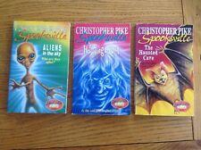 Spooksville Children's Books X3