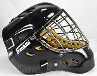 Franklin Sports NHL GFM 6000 Hockey Goalie Face Mask Carbon Fiber Black Size S/M