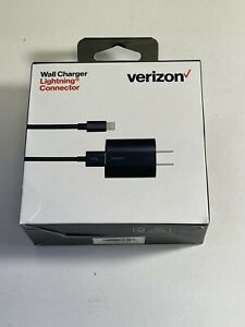 Verizon Wall Charger with 6 ft. Cable and LED Light for iPhone iPad iPod 5v/2.4A