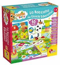 Lisciani Giochi- Carotina Baby La Raccolta Giochi Educativi Multicolore 79896