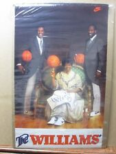 The Williams  Vintage poster Basketball Inv#G3475