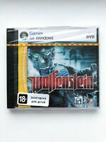 WOLFENSTEIN 2009 PC Game Jawel Case Russian Cover Brand New Factory Sealed