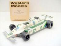 WESTERN MODELS 1/43 WRK 21 1979 SAUDIA WILLIAMS FW007