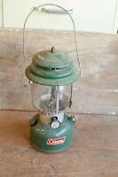 Vintage  COLEMAN Lantern  Double Mantle  Model 220F Glass Globe