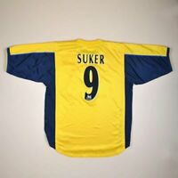 ARSENAL LONDON 1999/2000/2001 AWAY FOOTBALL SHIRT JERSEY NIKE #9 SUKER SIZE L