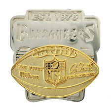 Tampa Bay Buccaneers Year Established NFL Commissioner's Golden Football Pin