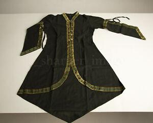 Green/Gold Trim Over Dress Renaissance Fair Celtic Medieval Gown BEAUTIFUL!