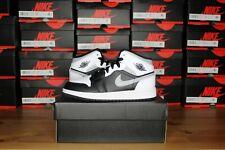 "2020 Nike Air Jordan 1 Mid ""White Shadow"" Big Kids Grade School - 554725-073 NEW"