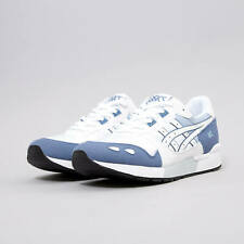 New ASICS Men's Gel-Lyte HY712 Running Shoes Trainers Sneakers White Blue UK5