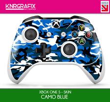 KNR6630 PREMIUM XBOX ONE S CONTROLLER SKIN CAMO BLUE
