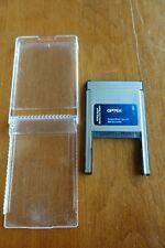 *Vintage* Optex Cf Memory Card Reader Pcmcia Pc Ocfadtypii Laptop Photo Camera G