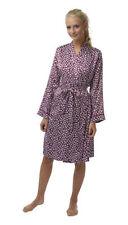 Satin Floral Short Lingerie & Nightwear Robes for Women
