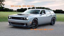 "MOPARS Dodge Charger Challenger Magnum 20"" Matte Stagger Wheels Tires Rims #70"