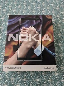 Nokia 8 Sirocco - 128GB - Black (Unlocked) 6Gb RAM