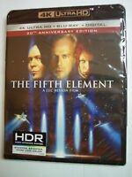 NEW THE FIFTH ELEMENT 4K ULTRA HD BLU RAY DIGITAL 2 DISC SET BRUCE WILLIS