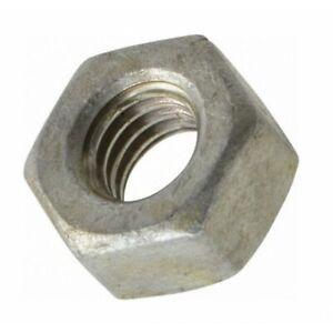 Hex Nut Plain Mild Steel DIN934 M5 M6 M8 M10 M12 M14 M16 M20 M24 M30 M36 M42