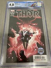 Thor #2 The First Cameo Black Winter. Graded 9.8 Graded By CGC.