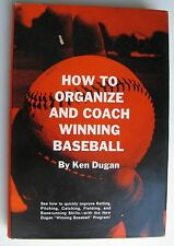 1971 How To Organize & Coach Winng Baseball by Ken Dugan; David Lipscomb College
