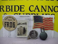 1924 NEW OLD STOCK TURRET CAP for 5T or 9B BIG BANG CANNON CARBIDE IRON TOY PART