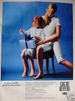 PUBLICITÉ 1967 LUC DE BEVERE PYJAMA A PANTALON CORSAIRE MARINIÈRE - ADVERTISING