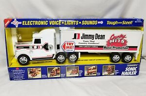 Jimmy Dean 18 Wheeler Truck Kenworth Sonic Hauler With Light Sound New Old Stock