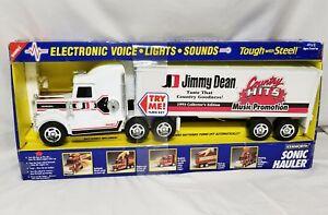 Jimmy Dean 18 Wheeler Truck Kenworth Sonic Hauler With Light Sound New Old Stock