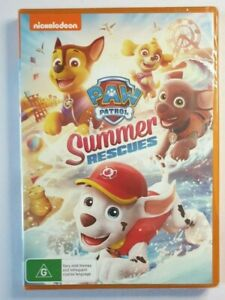 Paw Patrol Summer Rescues DVD brand new still sealed in plastic