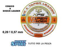 FILO CONICO SURFCASTING TRABUCCO  TAPERED 0,20-0,57 PZ 10 COLORE NEUTRO 05371200