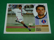 FABRICE FIORESE PARIS SAINT-GERMAIN PSG PANINI FOOT 2003 FOOTBALL 2002-2003