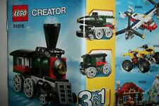 NIB LEGO Creator Emerald Express (31015) NO box