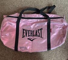 Metallic Pink Everlast Gym Bag Lightweight In Great Condition