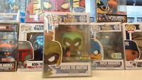 Marvin The Martian Funko Pop #143 Neon Green SDCC 2017 Exclusive!