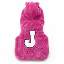 Brand New Juicy Couture ''J'' Hooded Pet Jacket - Limited Edition Pink Color