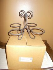 Longaberger Metalworks Wrought Iron Dessert Bowl Caddy - New in Box!