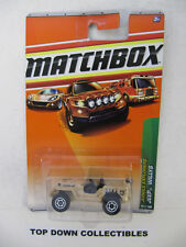 Matchbox City  Jungle Explorers  Jeep Willys    76of 100  NIB