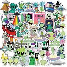 50pcs Vinyl Bomb Alien Space Cartoon Stickers Pegatinas Laptop Skateboard Decals