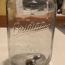 New listing Original Mason Jar With Lid And Dispenser Lemonade