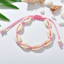 Charm Shell Cowrie Beads Turquoise Anklet Bracelet Chain Women Boho Foot Jewelry