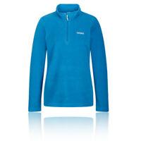 Regatta Womens Sweethart Half Zip Fleece Top - Blue Sports Outdoors Breathable