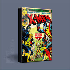 X-MEN CLASSIC COMIC COVERS SERIES AMAZING ICONIC CANVAS ART PRINT - Art Williams