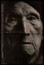 1965 Polaroid Type 55 P/N Land Film Old Native American Woman 2-Page Print Ad