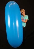 1 x GL1200 Riesen-Zeppelinballon GEMISCHTE FARBEN+VERSCHLUSS *pastell with clip*