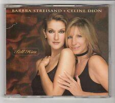 (HC182) Barbra Streisand & Celine Dion, Tell Him - 1997 CD