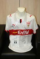 VFB Stuttgart Trikot der Traditionsmannschaft 2009 Autogramm Fußball Größe XL